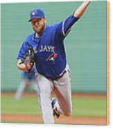 Mark Buehrle Wood Print