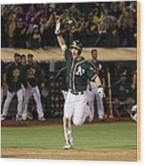 Mark Canha and Billy Butler Wood Print