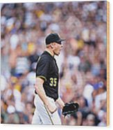 Mark Melancon Wood Print