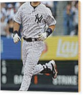 Mark Teixeira Wood Print