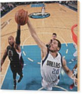 Marreese Speights and A.j. Hammons Wood Print