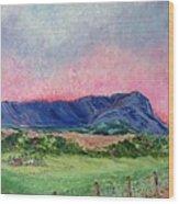 Massanutten Peak Beyond Dawn - SOLD Wood Print