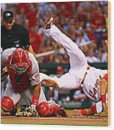 Matt Carpenter and Brayan Pena Wood Print