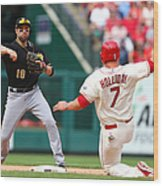 Matt Holliday and Neil Walker Wood Print