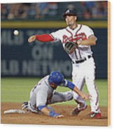 Michael Cuddyer And Jace Peterson Wood Print