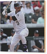 Michael Cuddyer Wood Print
