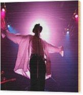 Michael Jackson Cover Band Plays DC 9:30 Club Wood Print