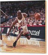Michael Jordan Wood Print
