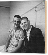 Mickey Mantle and Roger Maris Wood Print