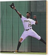 Miguel Montero and Gregory Polanco Wood Print