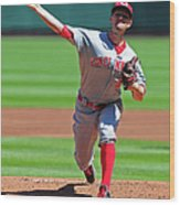 Mike Leake Wood Print