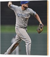 Mike Moustakas and Trevor Plouffe Wood Print