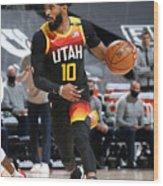 Minnesota Timberwolves v Utah Jazz Wood Print