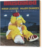 Minor Leagues Major Changes, June 2020 Sports Illustrated Cover Wood Print