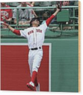 Mitch Haniger and Mookie Betts Wood Print