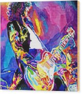 Monolithic Riff - Jimmy Page Wood Print