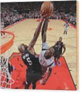 Montrezl Harrell and Marreese Speights Wood Print