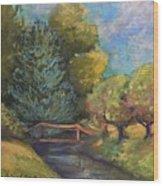 Mount Vernon summer Wood Print