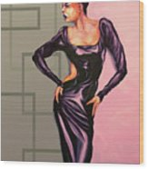 MS Jane Wood Print