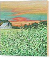 Neola Corn Wood Print