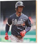 New York Mets v Washington Nationals Wood Print