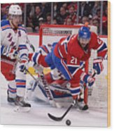 New York Rangers v Montreal Canadiens - Game Five Wood Print