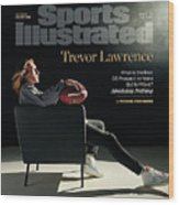NFL Draft 2021 Trevor Lawrence Sports Illustrated cover Wood Print