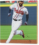 Nick Markakis Wood Print