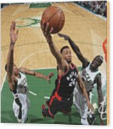 Norman Powell Wood Print