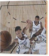 Oklahoma City Thunder v Memphis Grizzlies Wood Print