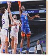 Oklahoma City Thunder v Phoenix Suns Wood Print