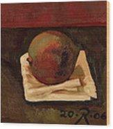 One Fruit Wood Print