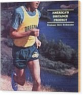 Oregon Steve Prefontaine Sports Illustrated Cover Wood Print
