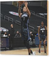 Orlando Magic v Los Angeles Clippers Wood Print