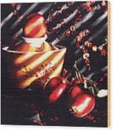Ornamental Crabapples Wood Print