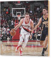 Pat Connaughton and Georges Niang Wood Print
