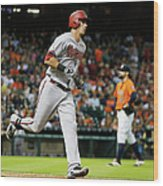 Pat Neshek and Jake Lamb Wood Print