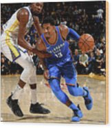 Paul George and Kevin Durant Wood Print