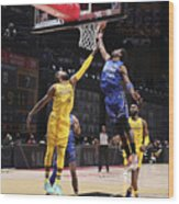 Paul George and Kyrie Irving Wood Print
