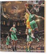 Paul Pierce and Kobe Bryant Wood Print