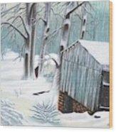 Peaceful Morn Wood Print