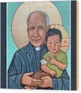 Pedro Arrupe SJ  Wood Print