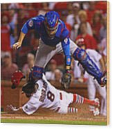 Peter Bourjos and Miguel Montero Wood Print