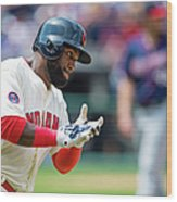 Phil Hughes and Abraham Almonte Wood Print