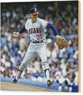 Phil Niekro Wood Print