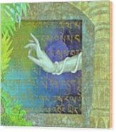 Prayer to Tara Wood Print