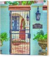 Puello House Wood Print