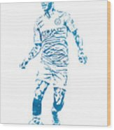 Raheem Sterling Manchester City Watercolor Strokes Pixel Art 3 Mixed Media By Joe Hamilton