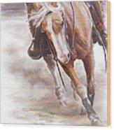 Reiner's Grace- Western Reining Horse Wood Print