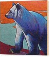 Return of the Spirit Bear Wood Print